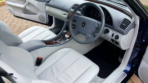 1997 Mercedes CLK 200 Elegance Coupe 962 Miles From New For Sale (picture 2 of 3)
