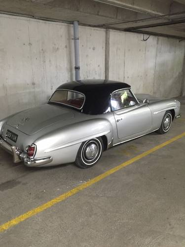 1957 EXCELLENT EXAMPLE 190SL CHASSIS UP RESTORATION For Sale (picture 6 of 6)