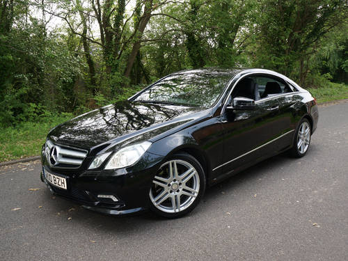 b37375b42868dd ... 2010 MERCEDES E350 CDI AMG SPORT COUPE V6 DIESEL AUTOMATIC BLACK SOLD  (picture 1 of ...