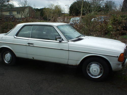1983 Mercedes Benz 230CE pillarless coupe For Sale (picture 1 of 1)