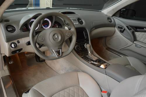 2008 Mercedes SL 65 AMG 1 owner  For Sale (picture 3 of 6)