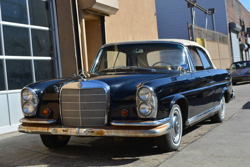 1963 Mercedes-Benz 220SE Cabriolet For Sale (picture 1 of 5)