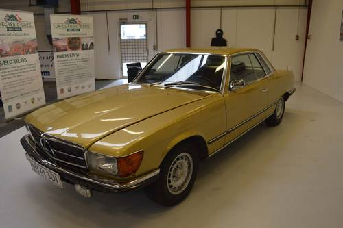 1973 Mercedes-Benz 350 SLC - Beautiful original condition SOLD (picture 1 of 6)