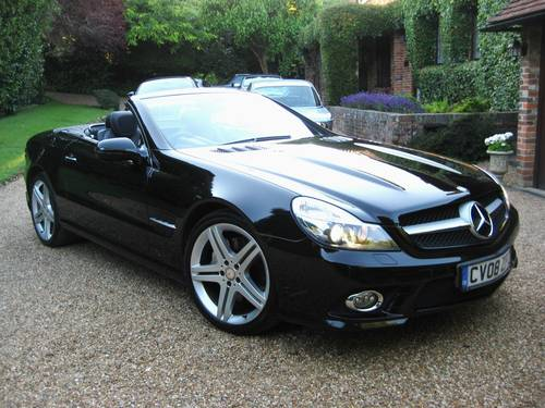 2008 Mercedes Benz SL350 AMG Sports With Pan Roof+AMG Bodystyling For Sale (picture 1 of 6)