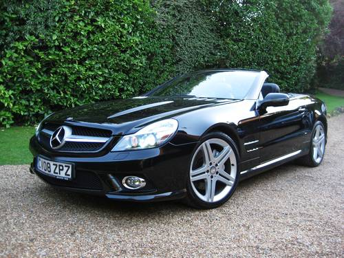 2008 Mercedes Benz SL350 AMG Sports With Pan Roof+AMG Bodystyling For Sale (picture 2 of 6)