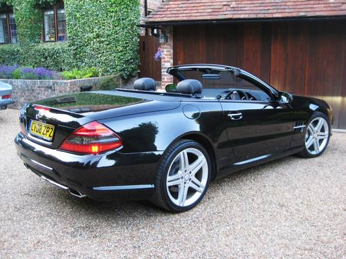 2008 Mercedes Benz SL350 AMG Sports With Pan Roof+AMG Bodystyling For Sale (picture 6 of 6)