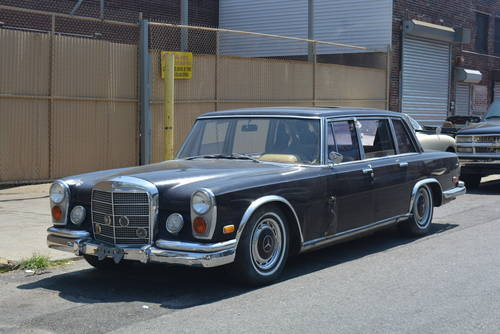 1969 Mercedes-Benz 600 SWB LHD  For Sale (picture 1 of 5)