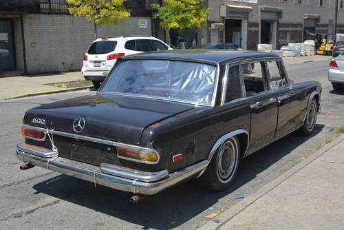 1969 Mercedes-Benz 600 SWB LHD  For Sale (picture 2 of 5)