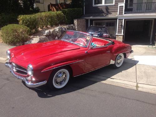 1957 Mercedes-Benz 190SL Roadster For Sale (picture 1 of 6)