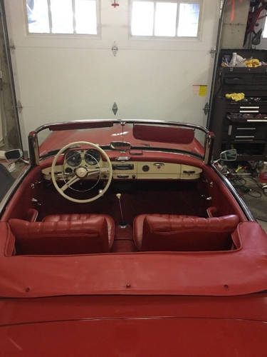 1957 Mercedes-Benz 190SL Roadster For Sale (picture 5 of 6)