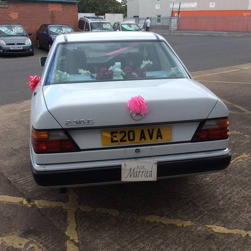 1991 STUNNING 25 YR OLD MERCEDES WITH PRIVATE PLATE