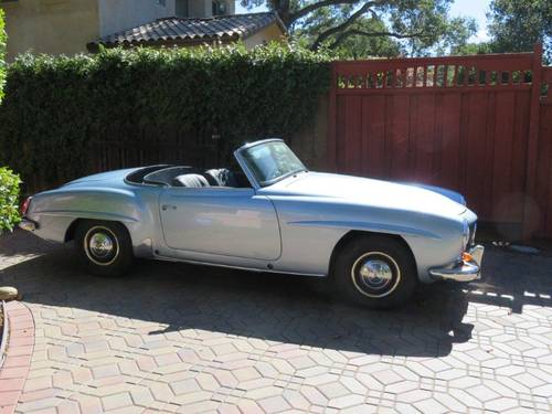 1956 Mercedes-Benz 190SL For Sale (picture 1 of 4)