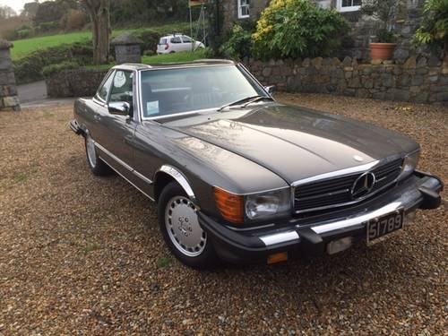 1989 Mercedes 560 SL Roadster in excellent condition low mileage For Sale (picture 1 of 6)