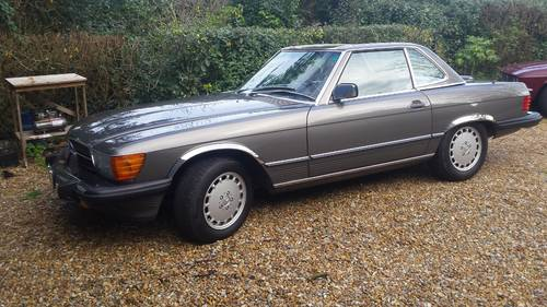 1989 Mercedes 560 SL Roadster in excellent condition low mileage For Sale (picture 2 of 6)