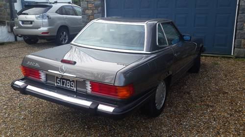 1989 Mercedes 560 SL Roadster in excellent condition low mileage For Sale (picture 4 of 6)