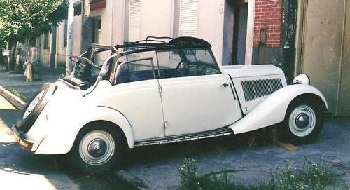 1936 Mercedes 170 V cabrio ,advanced restoration For Sale (picture 1 of 6)