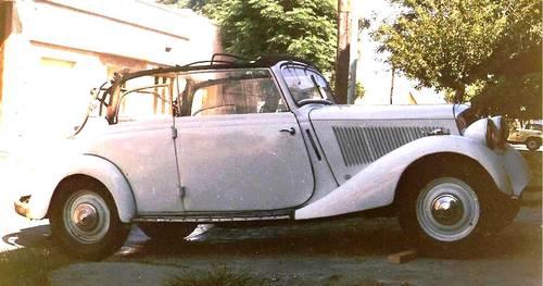 1936 Mercedes 170 V cabrio ,advanced restoration For Sale (picture 2 of 6)