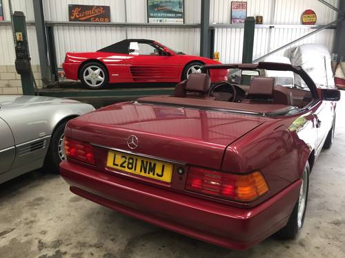1993 MERCEDES 500SL   W129. SOLD (picture 4 of 6)