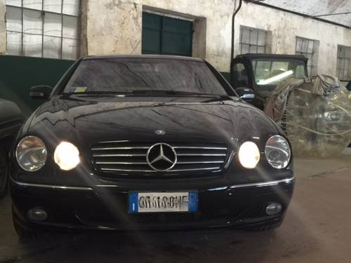 2001 Mercedes cl 600 For Sale (picture 1 of 6)
