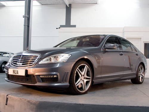 2010 Mercedes Benz S63L AMG in Silver For Sale (picture 1 of 6)