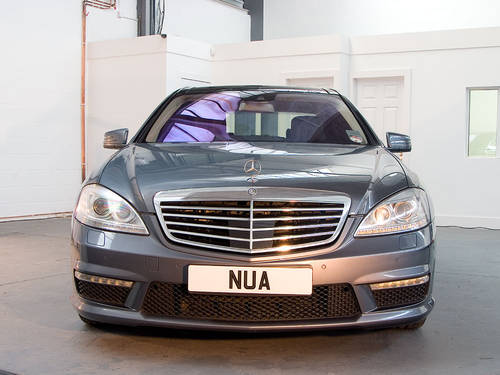 2010 Mercedes Benz S63L AMG in Silver For Sale (picture 3 of 6)