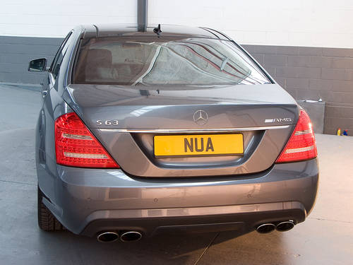 2010 Mercedes Benz S63L AMG in Silver For Sale (picture 4 of 6)