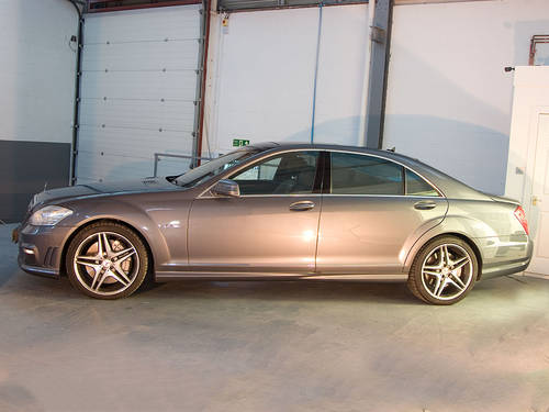 2010 Mercedes Benz S63L AMG in Silver For Sale (picture 5 of 6)