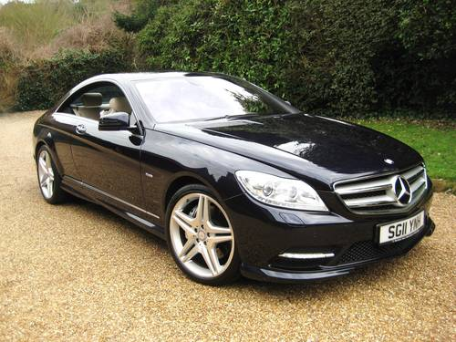 2011 Mercedes Benz CL500 AMG BlueEfficiency With Just 17000 Miles For Sale (picture 1 of 6)