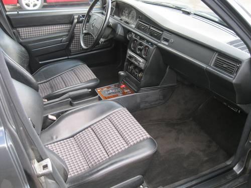 1990 Mercedes-Benz W201 190E 2.5 16v Auto LHD COSWORTH For Sale (picture 5 of 6)