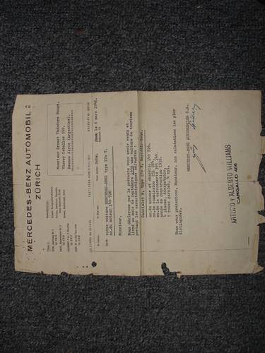 1936 Excellent project!! With original purchase invoice For Sale (picture 6 of 6)