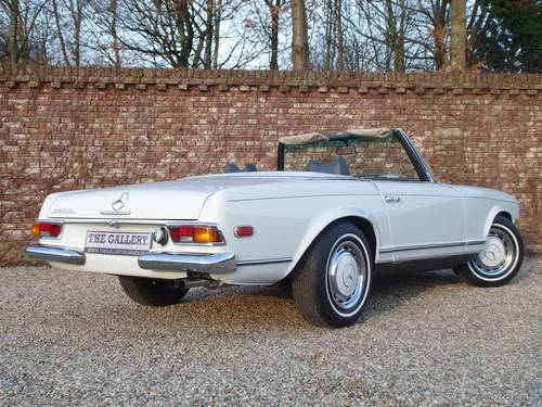 1971 Mercedes Benz 280 SL Pagode For Sale (picture 2 of 6)