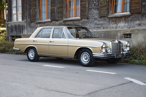 The 1971 Geneva Motor Show Mercedes 280 SE 3.5 For Sale (picture 1 of 4)