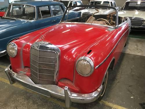 1958 220S Ponton Cabrio For Sale (picture 1 of 5)