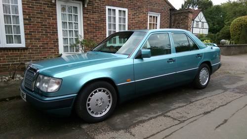 1991 Outstanding low mileage W124 300E-24 saloon For Sale (picture 1 of 6)