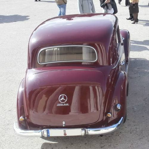 1955 Mercedes-Benz 170 S-V, fully restored For Sale (picture 6 of 6)