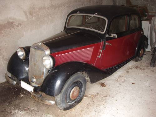 1949 Mercedes-Benz 170 V, one owner, original, project For Sale (picture 1 of 6)