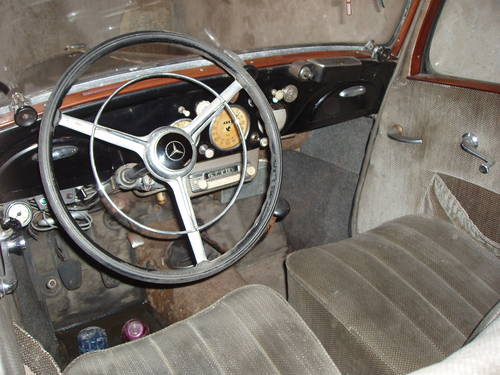 1949 Mercedes-Benz 170 V, one owner, original, project For Sale (picture 3 of 6)