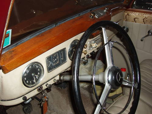 1952 Mercedes-Benz 170 Va For Sale (picture 4 of 6)