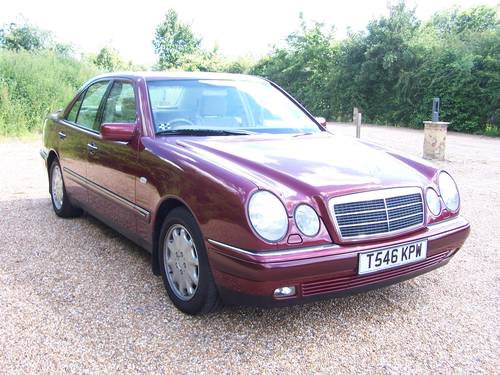 1999 Beautiful E ClASS W210 300TD For Sale (picture 2 of 6)