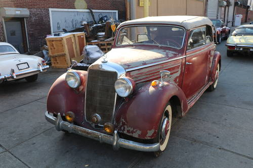 1950 Mercedes-Benz 170S Cab B For Sale (picture 1 of 5)