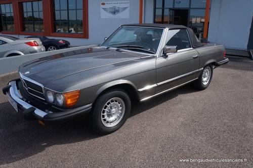 1982 Mercedes-Benz 380SL, sales invoice, euro bumper For Sale (picture 1 of 6)