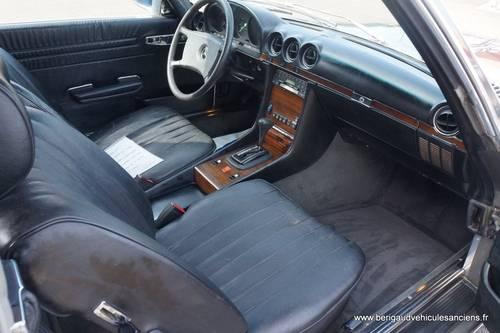 1982 Mercedes-Benz 380SL, sales invoice, euro bumper For Sale (picture 2 of 6)