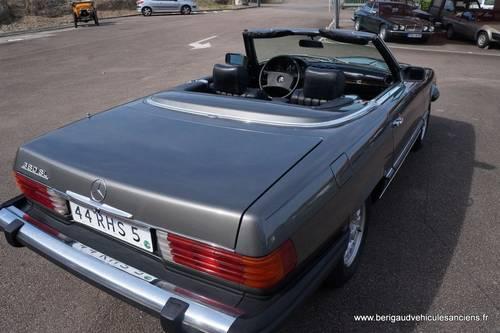 1982 Mercedes-Benz 380SL, sales invoice, euro bumper For Sale (picture 5 of 6)