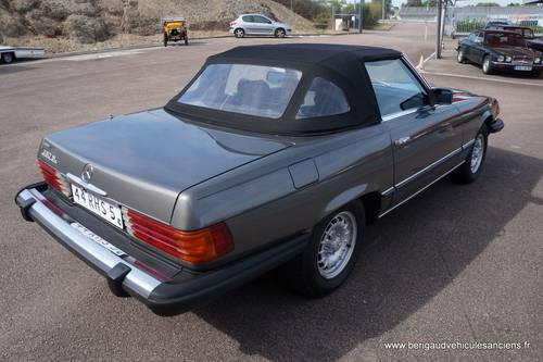 1982 Mercedes-Benz 380SL, sales invoice, euro bumper For Sale (picture 6 of 6)
