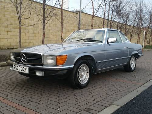 1983 Mercedes 280 SL W107 Auto Convertible For Sale (picture 4 of 6)