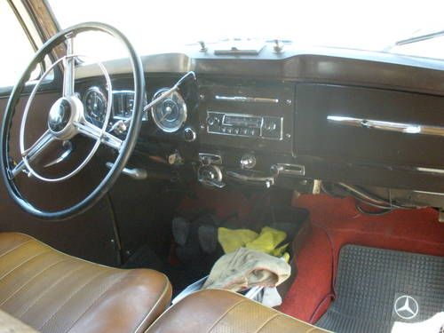 For sale Mercedes 170 SD 1954 For Sale (picture 4 of 5)