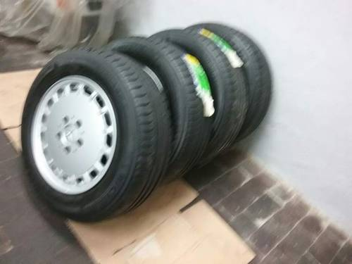 n.4 original Mercedes 1264003002 wheels+ 4 tyres For Sale (picture 1 of 6)