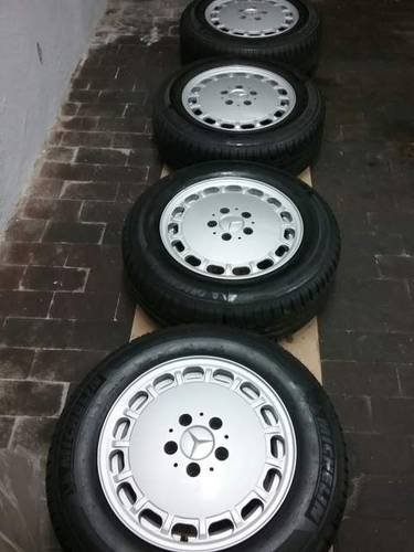 n.4 original Mercedes 1264003002 wheels+ 4 tyres For Sale (picture 2 of 6)