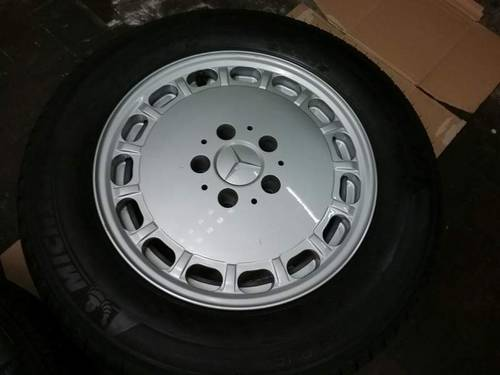 n.4 original Mercedes 1264003002 wheels+ 4 tyres For Sale (picture 3 of 6)