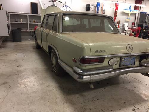 1967 Mercedes 600 SWB For Sale (picture 1 of 3)